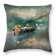 Flying Pig - Acts Of A Pig Throw Pillow