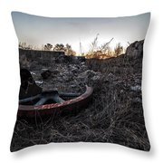 Flywheel Throw Pillow