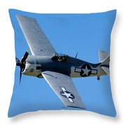 Fm-2 Flyby Throw Pillow