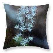 Foam Flower Throw Pillow