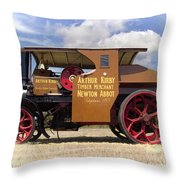 Foden Tractor Throw Pillow