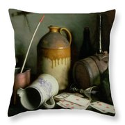 Foes In The Guise Of Friends Throw Pillow by Edward George Handel Lucas