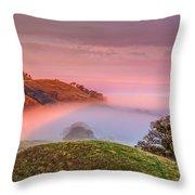Fog Flow 12-8-14 Throw Pillow