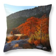 Foggy Frio #6 2am-109069 Throw Pillow