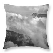 Sky And Earth Throw Pillow