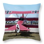 Fokker Dr.i Throw Pillow