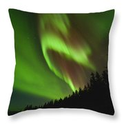 Fold In Space Throw Pillow