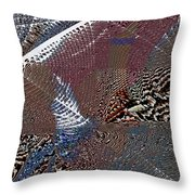 Folded 2 Throw Pillow