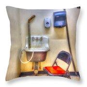 Folding Chair Throw Pillow