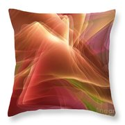 Folding Echoes   Throw Pillow