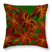 Folding In Harmony Throw Pillow
