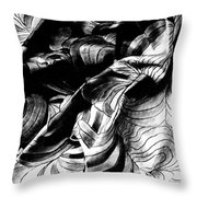 Folding Structure IIi Throw Pillow