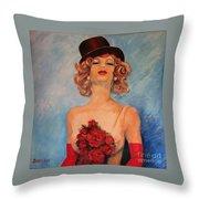 Folies Bergere Paris Throw Pillow