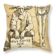 Follow Throw Pillow