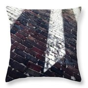 Follow Me - Abstract Photography By Sharon Cummings Throw Pillow