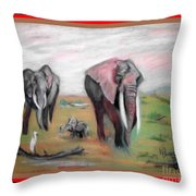 Follow Me To The Waters Throw Pillow