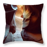 Follow The Light II Throw Pillow by Kathy McClure