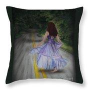 Follow Your Path Throw Pillow
