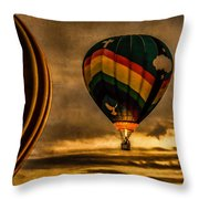 Following Amazing Grace Throw Pillow by Bob Orsillo