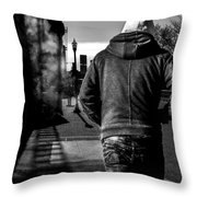 Following Throw Pillow