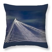 Following The Wake Throw Pillow