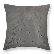 Folly Beach Sc Throw Pillow