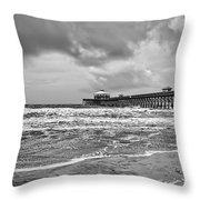 Folly Pier Throw Pillow