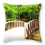 Folsom Bridge 2 Throw Pillow