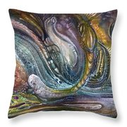 Fomorii Interior II Throw Pillow