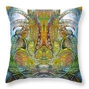 Fomorii Throne Throw Pillow