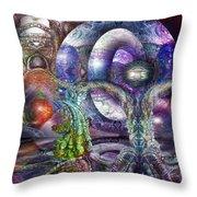 Fomorii Universe Throw Pillow
