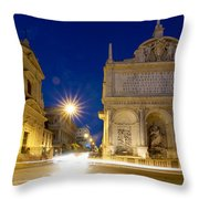 Fontana Dell'acqua Felice Throw Pillow