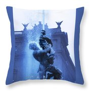 Fontana Delle Naiadi Throw Pillow