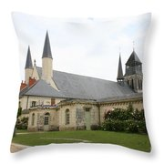 Fontevraud Abbey -  France Throw Pillow