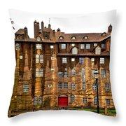 Fonthill Castle - Experimental Throw Pillow