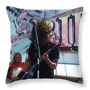 Foo Fighters Love Ride 25 Throw Pillow