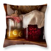 Food - Fruit - Things You Make At Summertime Throw Pillow