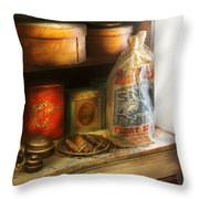 Food - Kitchen Ingredients Throw Pillow