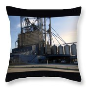 Food Mill Valley View Texas Throw Pillow