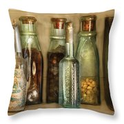 Food - The Ingredients  Throw Pillow by Mike Savad