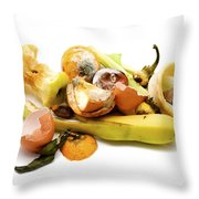 Food Waste Throw Pillow