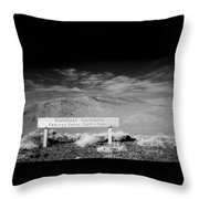 Foot And Horse Traffic Only Throw Pillow