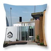 Football Hall Of Fame In Canton Throw Pillow