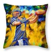 Football I Throw Pillow