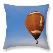Football Season Throw Pillow