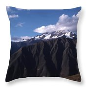Foothill Of The Andes Throw Pillow