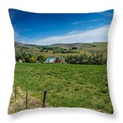 Foothill Ranch Throw Pillow