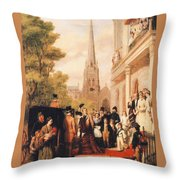 For Better For Worse Throw Pillow