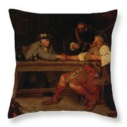 For Better Or Worse - Rob Roy Throw Pillow