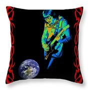 For Earth Below #2 Throw Pillow